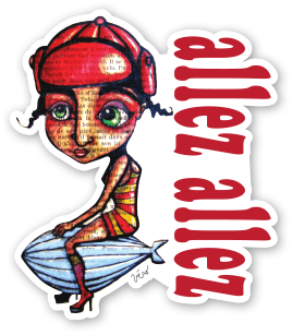 Sticker - Allez Allez