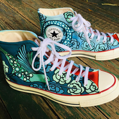 Custom painted canvas shoes - best personalized gift!