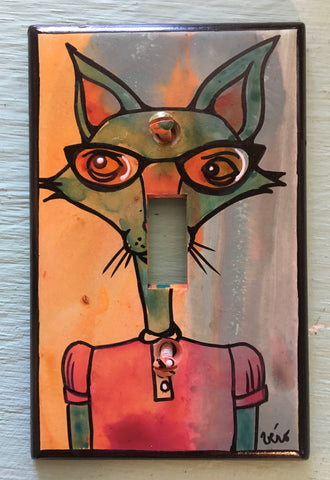 Light Switch Plate - Smart Fox