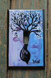 Single Light Switch Plate - Tree Pod