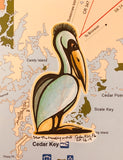 Cedar Key drawings - Renegate Pelican
