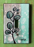 Single Light Switch Plate - Botanical 3