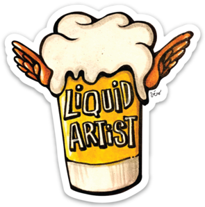 Sticker - Liquid Artist