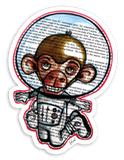 Sticker - Monkeynaut