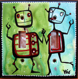 Robot Dancers - Naked Art Gallery