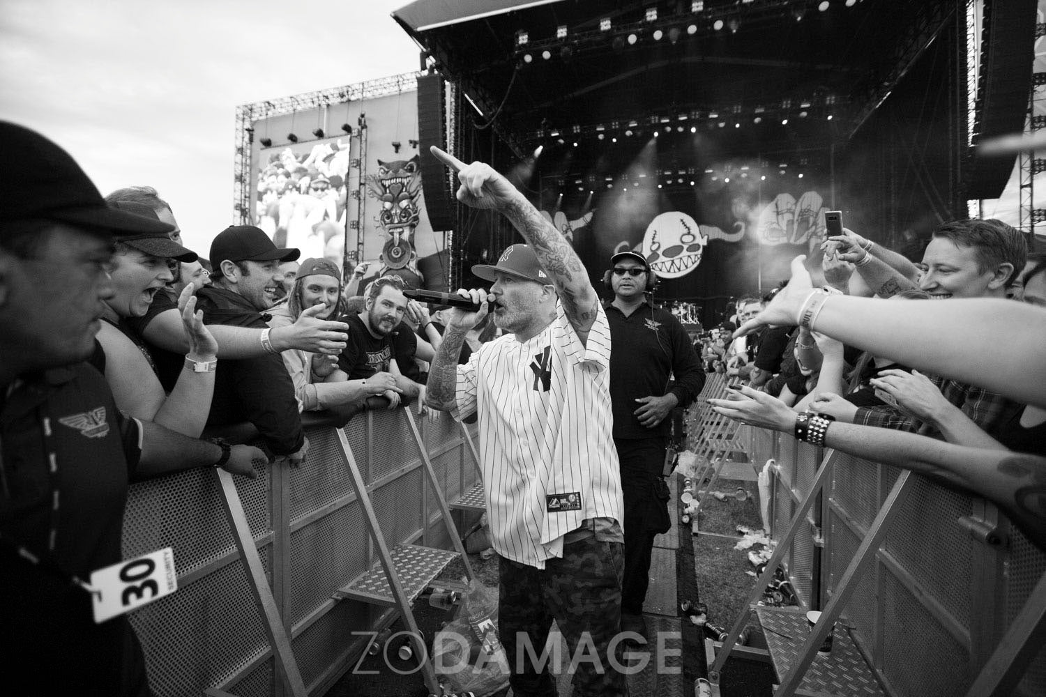 Fred Durst (Limp Bizkit), Download 2018 by Zo Damage