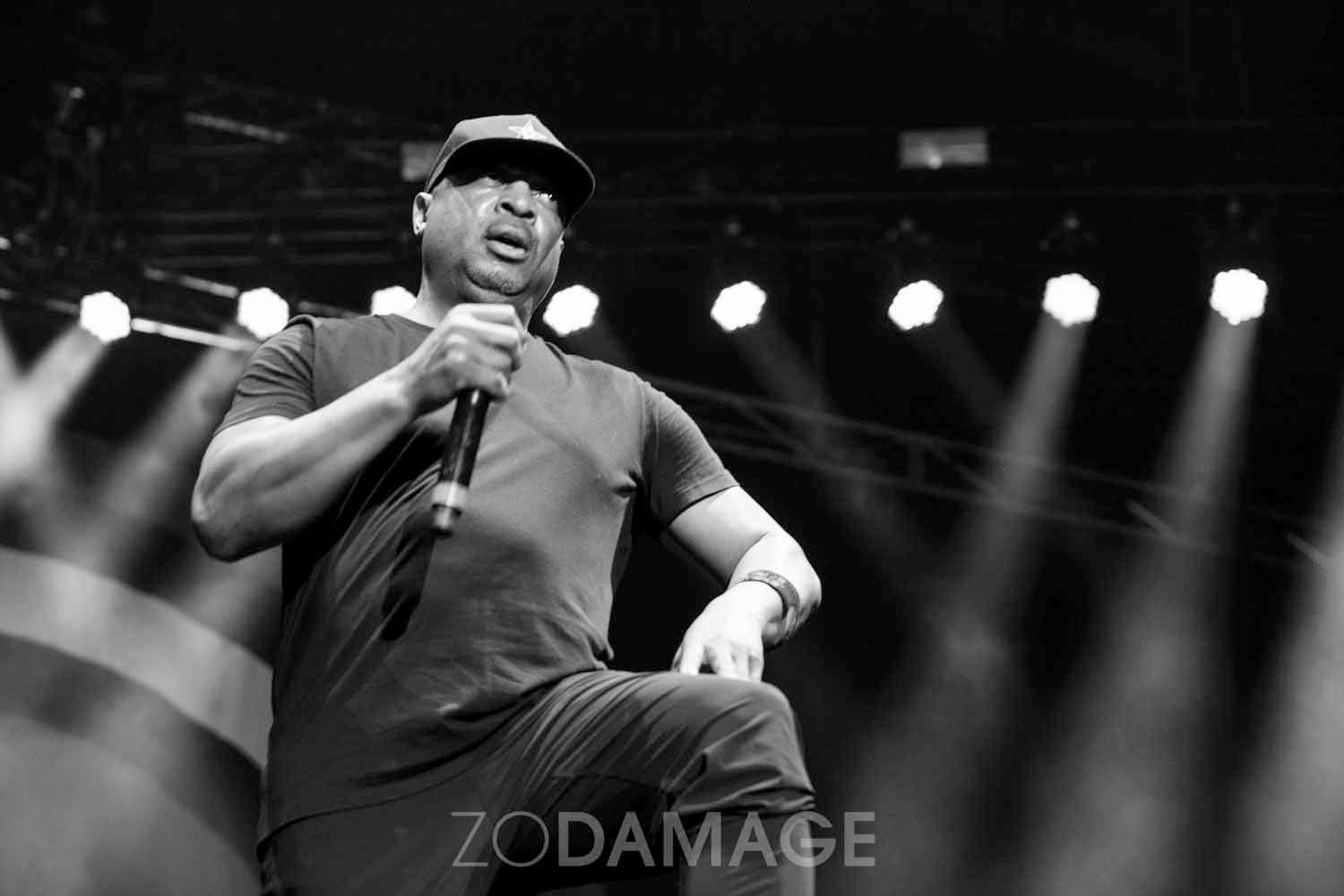 Chuck D, Prophets of Rage © Zo Damage
