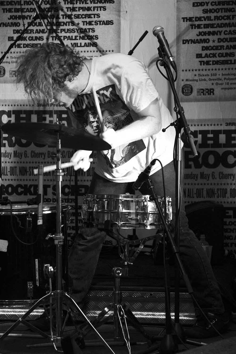 Digger & The Pussycats (Andy Moore), Cherry Rock 2007