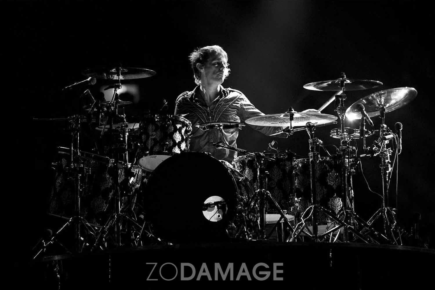 Muse (Dominic Howard), Rod Laver Arena 2010