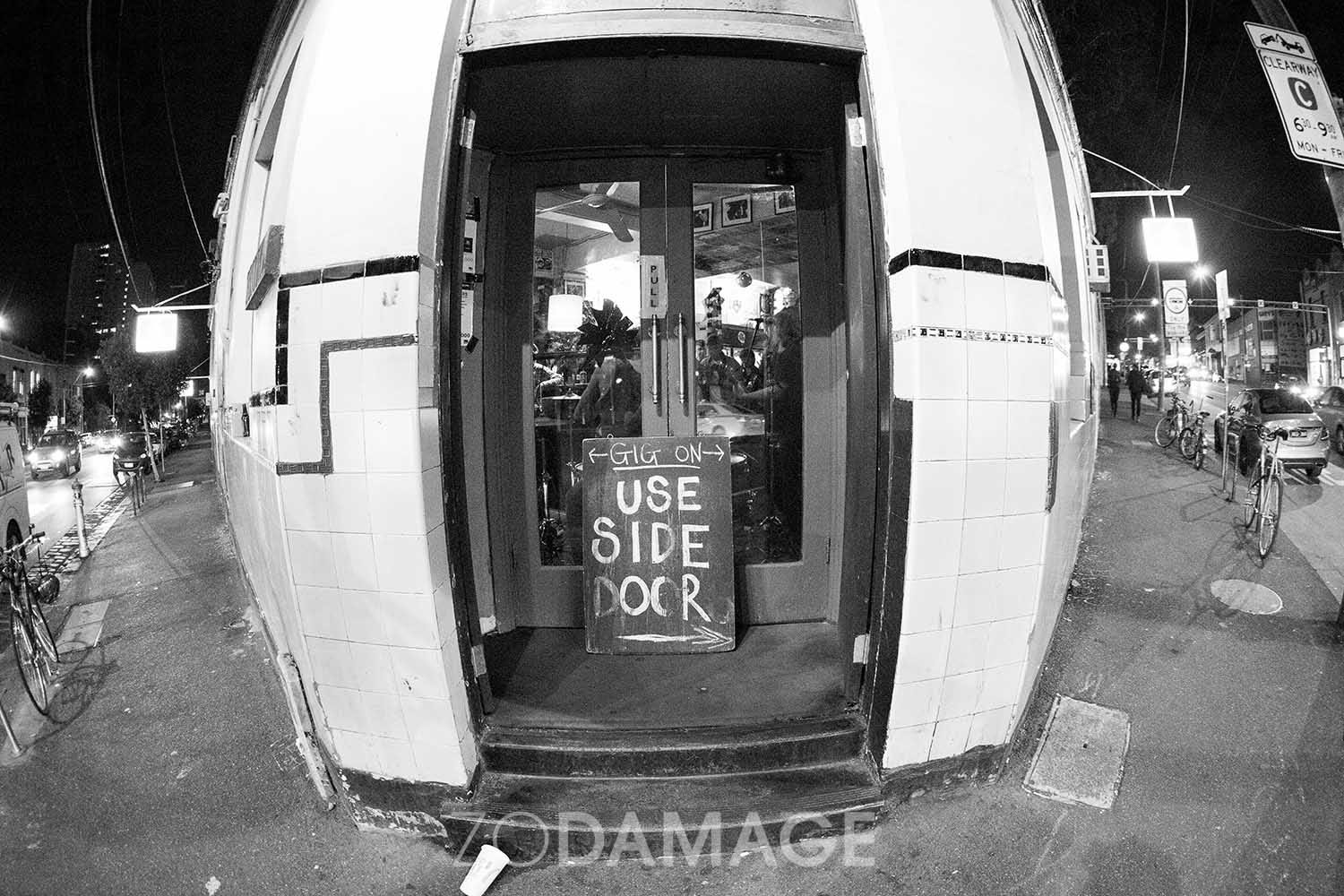 The Tote Hotel 2016 © Zo Damage