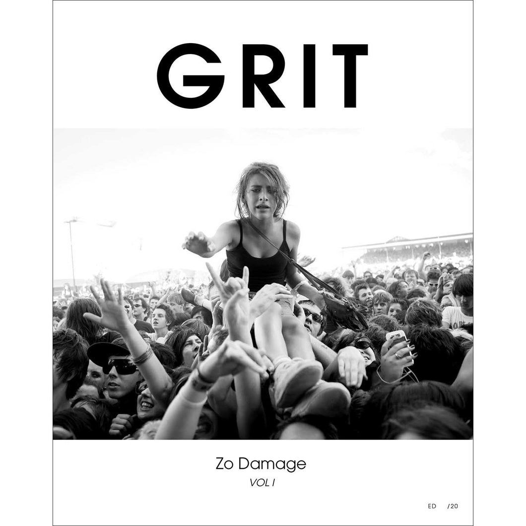 Grit Ltd Ed Book