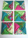 Christmas Coasters Set of 6