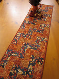 Fall Table Runner, Handmade Quilted Tablerunner