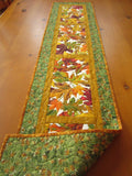 Handmade Quilted Fall Table Runner