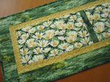 Floral Table Runner, Spring Decor