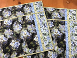 Placemats Set of Four Hydrangea Flowers Kitchen Decor
