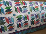 Batik Quilt in Gorgeous Colors