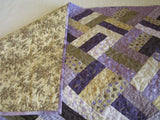 Purple Patchwork Quilt