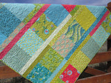 Patchwork Quilt with Boho Chic Style