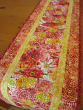 Floral Table Runner for Spring