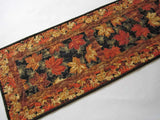 Fall Quilted Table Runner Handmade Fall Decor