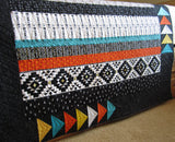 Southwest Style Quilted Throw
