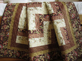 Handmade Quilt Asian Inspired