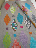 Colorful Modern Patchwork Quilt