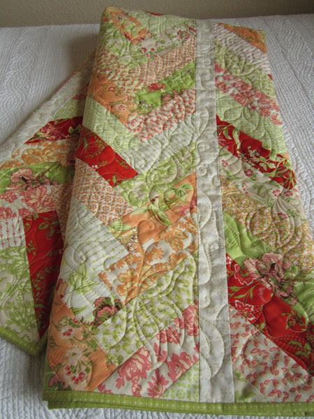 Handmade Braided Quilt Design