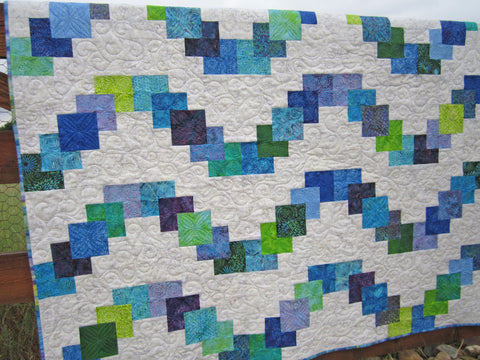 Homemade Quilt for Sale Batik