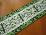 Floral Table Runner Home Decor