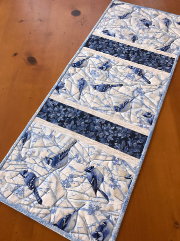 Blue Jays Table Runner Winter Decor