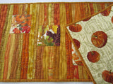 Autumn Colors Quilted Table Runner