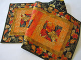 Fall Table Runner with Leaves
