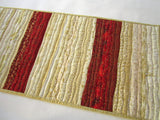 Christmas Table Runner with Gold Metallic