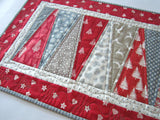 Christmas Table Runner with Scandinavian Accent