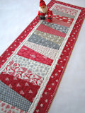 Christmas Table Runner with Wedge Design