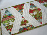 Modern Christmas Table Runner