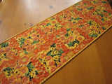 Fall Flowers Quilted Table Runner