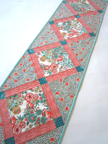 Floral Spring Table Runner