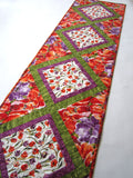 Floral Table Runner with Tulips