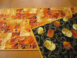Vibrant Fall Leaves Table Runner