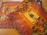 Table Runner Featuring Vibrant Fall Colors