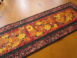 Autumn Flowers Table Runner