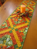 quilted table runner autumn for sale