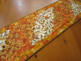 Autumn Table Runner in Vibrant Colors for Fall Decorating