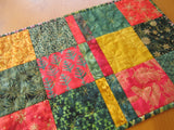Christmas Batik Table Runner
