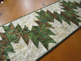 Pine Cones and Sprigs Table Runner