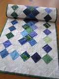Quilted Table Runner Summer Decor