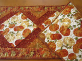 Table Runner Fall Pumpkins